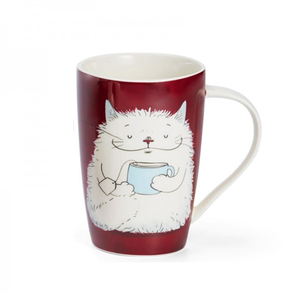 Чаша за чай с  Котка