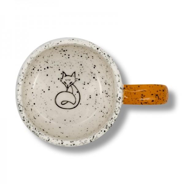 Чаша лисица Stone Fox