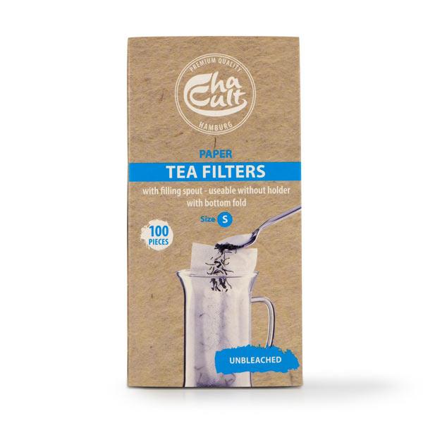 Биоразградими хартиени филтри за чай S
