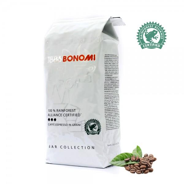 Кафе на зърна Bonomi Rainforest 1 кг.