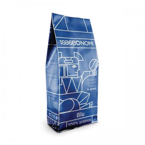 Кафе на зърна Bonomi Blu 1 кг.