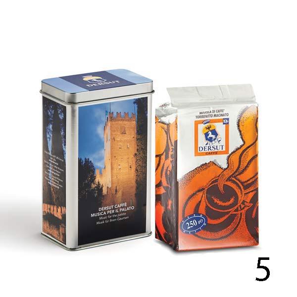 Мляно кафе Dersut  250 гр. в метална кутия