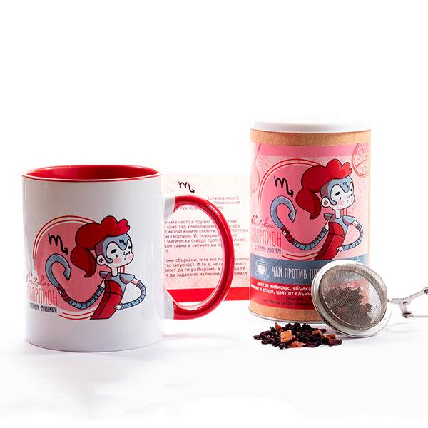 Подаръчен комплект за зодия Скорпион